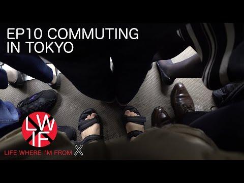 Commuting in Tokyo