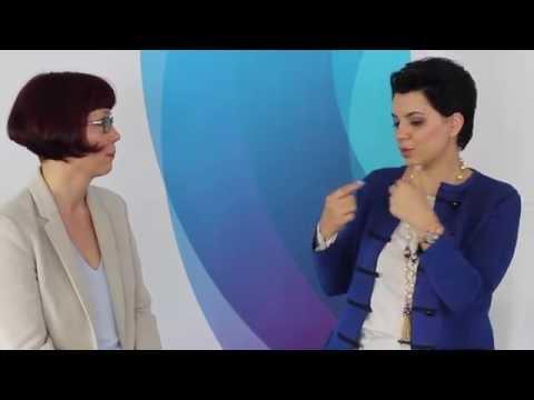 Interview Elke Wolff, Aareon mit Dr. Amel Karboul