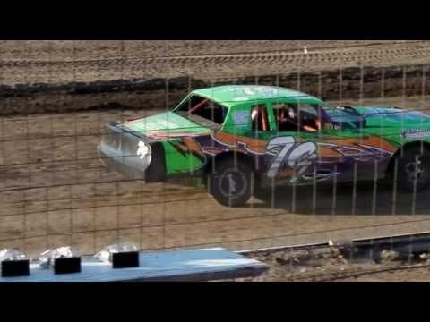6-30-17 Wagner Speedway heat race