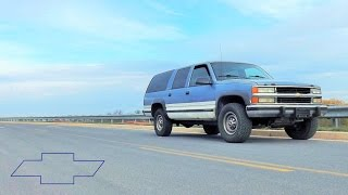 1994 Chevy Suburban K2500 4X4 Silverado 5.7L V8 Start Up, Review and Tour