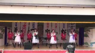 2011年5月5日リンゴ娘&アルプスおとめ弘前さくら祭りライブのアンコ...