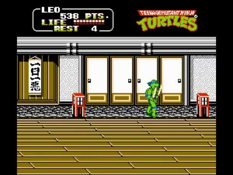 NES Longplay [007] Teenage Mutant Ninja Turtles II: The Arcade Game