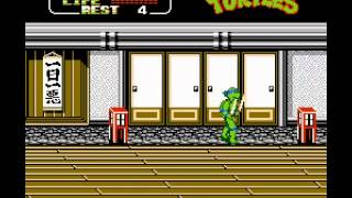 NES Longplay [007] Teenage Mutant Ninja Turtles II: The Arcade Game