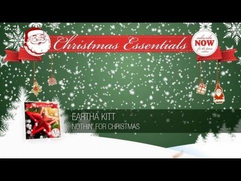Eartha Kitt Nothin For Christmas Essentials