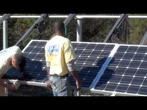 Solar Panel Ground Mount Installation Marietta, Georgia by Solar Energy USA.m4v