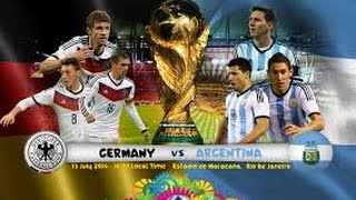 GERMANY 1-0 ARGENTINA AET | FIFA WORLD CUP 2014 | LIVE AUDIO STREAM
