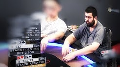 WSOP Main Event Champion Scott Blumstein Plays Massive $17K Pot ♠ Live at the Bike!