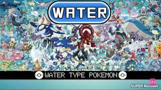 Những Pokemon Hệ Nước