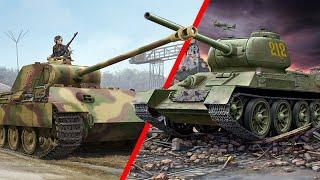 Кто был КРУЧЕ - Т34 или Пантера? Т34 против Пантеры! Лучшие танки второй мировой