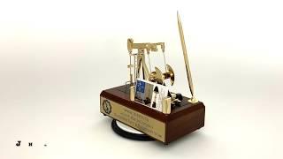 Oilfield Business Card Holder JHM#195 Pump Jack Gift