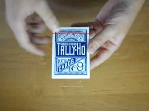 Unboxing//Обзор карт Tally-Ho Original Circle Back