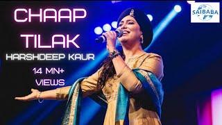 CHAAP TILAK | Harshdeep Kaur | SUFI MUSIC | JUNOON | Saibaba Studios