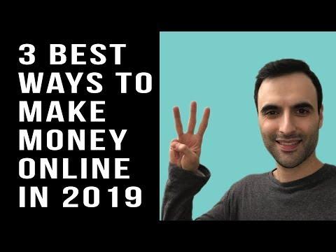 3 BEST Ways To Make Money Online in 2019! (No Surveys)