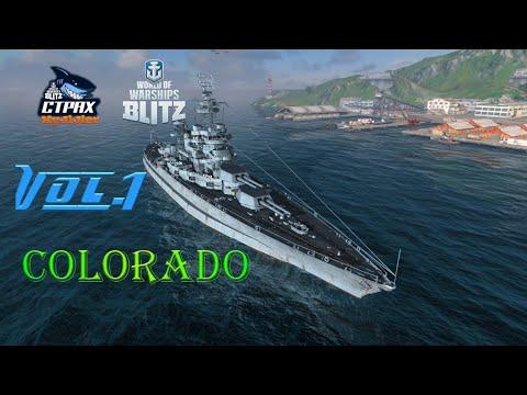 WOWS BLITZ Флот СТРАХ: Colorado VII