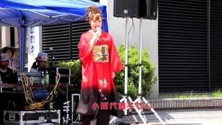 第19回 yosakoiさんさ2016,盛岡駅滝の広場前会場.