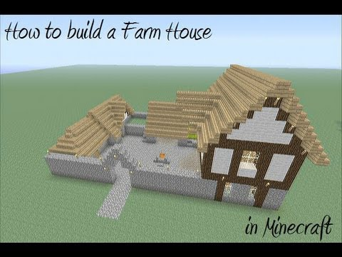 How To Build A Farm House In Minecraft YouTube