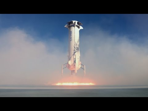 Blue Origin rocket launch into space brings hundreds of people into ...
