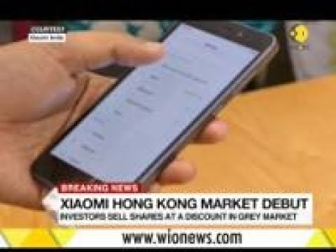 Xiaomi shares disappointment on Day 1: Shares fall by 6 per cent Mp3