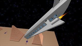 Round 2 Space Ship Crash Roblox Epic Fail