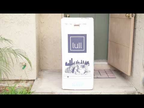 Lull Bed Unboxing | Arlyne Unboxes And Designs Her Mattress