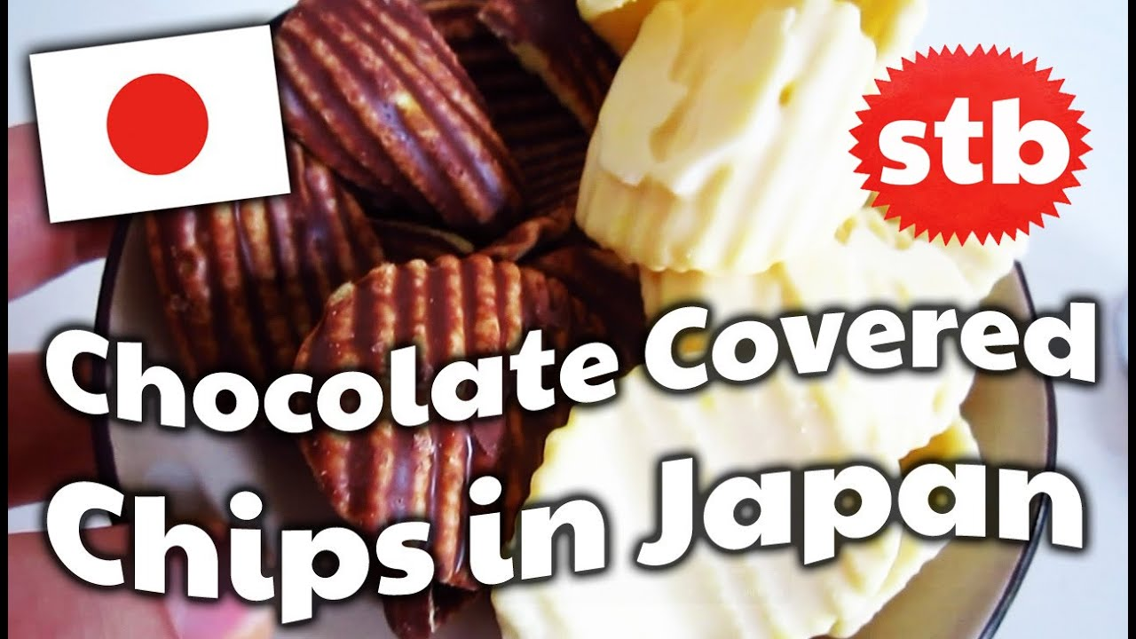 Chocolate Covered Chips In Japan  E   Solotravelblog