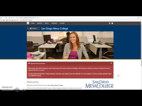 How to Register for the online Mesa Job Network?