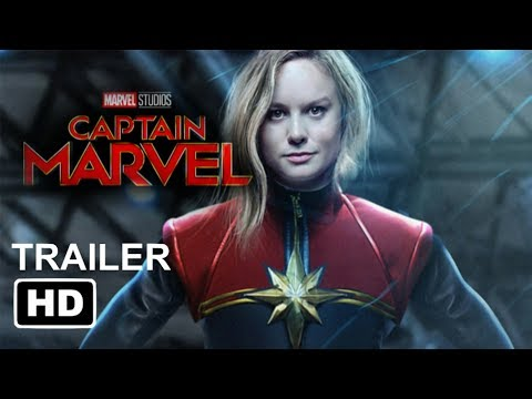 CAPTAIN MARBLE FIRST LOOK (2019) - Brie Larson [HD] Trailer Concept