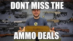 Stock Up On These Ammo Deals