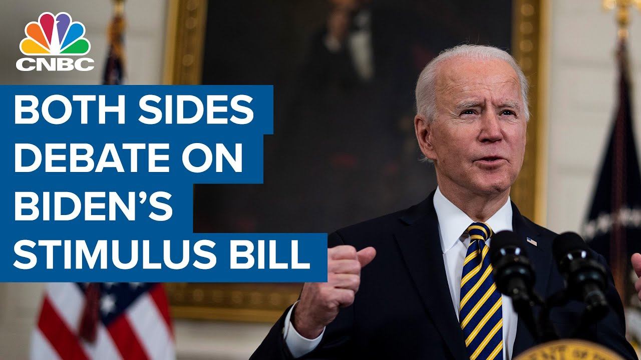 Democratic and Republican representatives debate President Joe Biden's stimulus bill