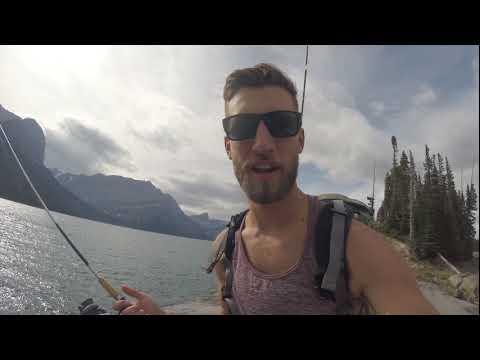 Attempting To Fish The Upper Kananaskis Lake
