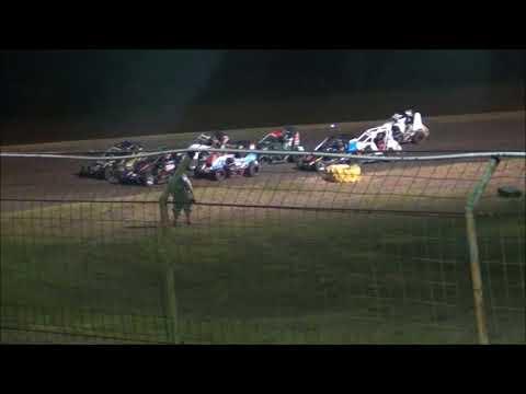 10-07-17 Gulf Coast Speedway Heat Race