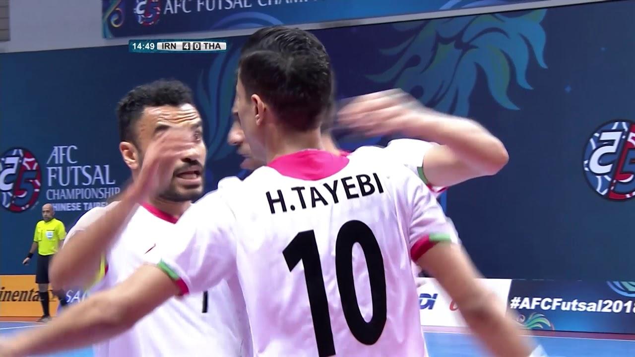 Video: Futsal Iran vs Futsal Thái Lan
