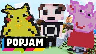 Minecraft Popjam | Danisnotonfire, Peppa Pig, Pikachu & More!