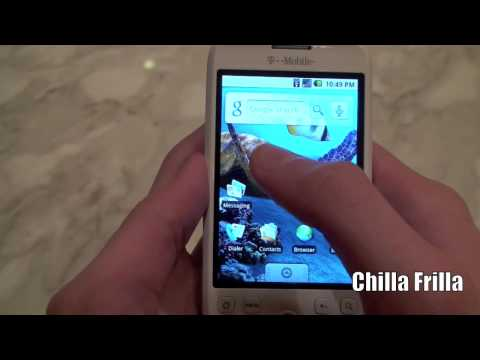 Chilla Frilla - T-Mobile myTouch 3G Unboxing and Review (HD) 720p