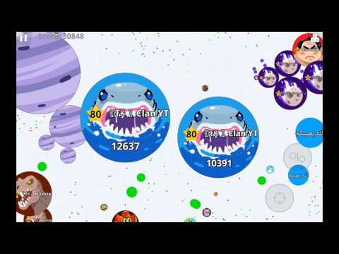 Agario mobile / Epic moments / Perfect Shark Team? Turk + Azeri POWER