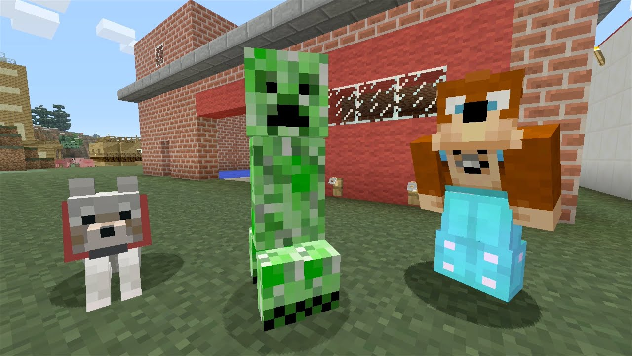 Minecraft Xbox Fire Station 211 Youtube