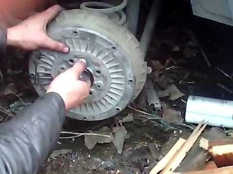 Как снять тормозной барабан ваз