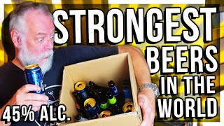 PAPA TRYING THE WORLD'S STRONGEST BEERS