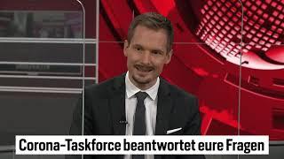 Stell unseren Experten der Corona Task-Force Fragen | BlickTV