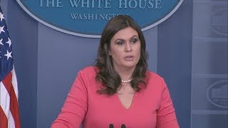 11/20/17: White House Press Briefing