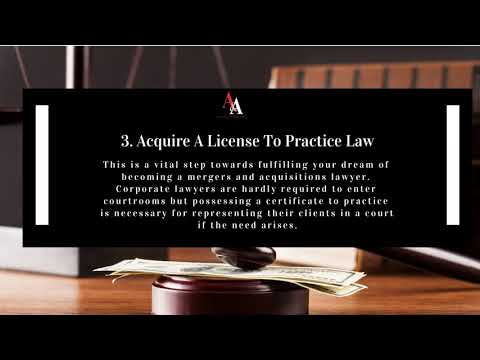 Essential Steps To Become A Mergers and Acquisitions Lawyer