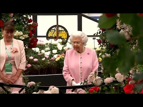 Royal visit to Chelsea Flower show