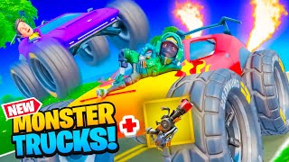 *NEW* MONSTER TRUCKS in FORTNITE!