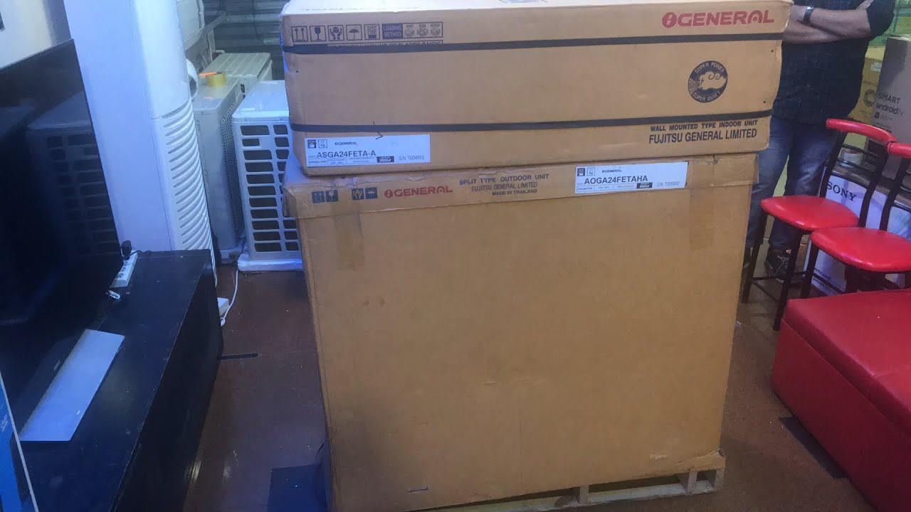 100% Original Thailand Made General 2 Ton 24000 BTU Split AC Price