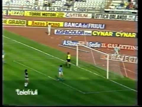 Udinese napoli serie a 1984 85 part 2 youtube for Serie a table 1984 85