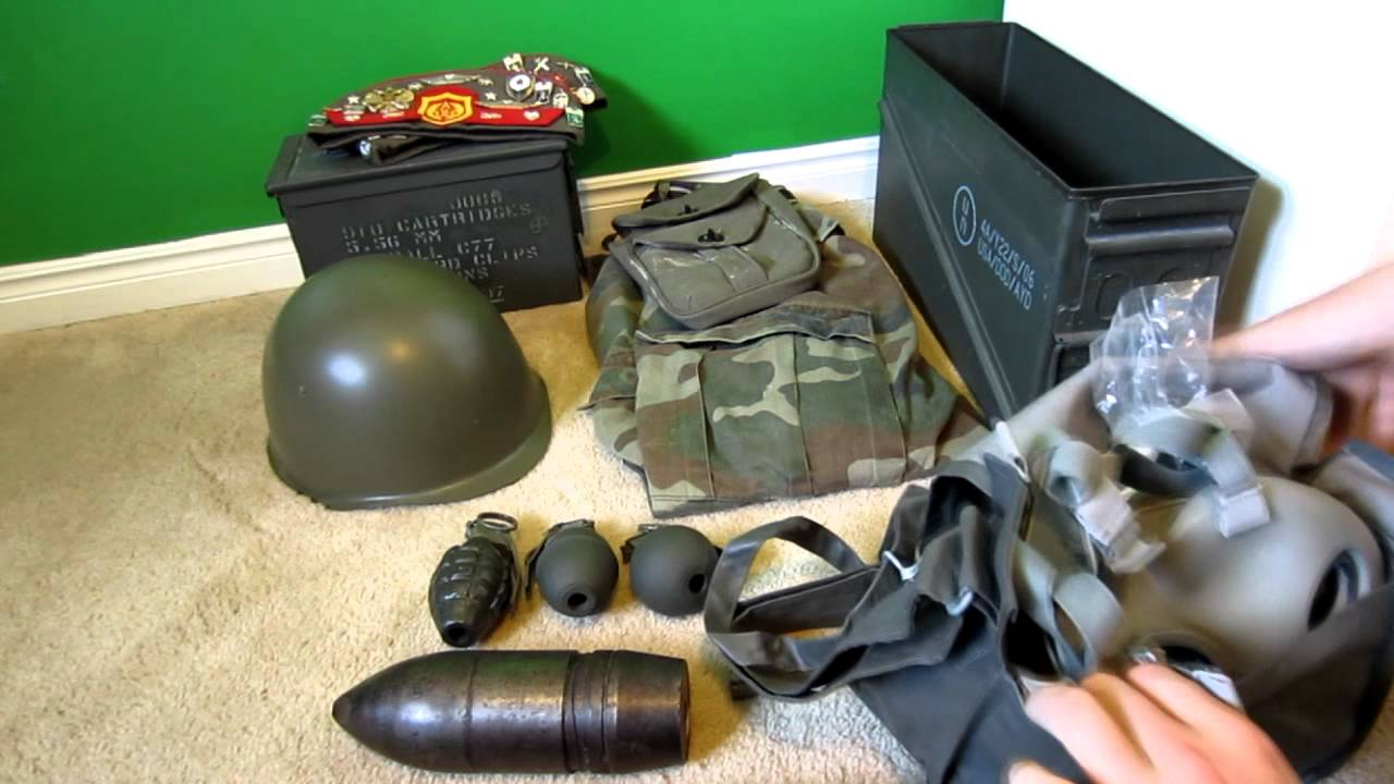 army gear collection 2012 youtube
