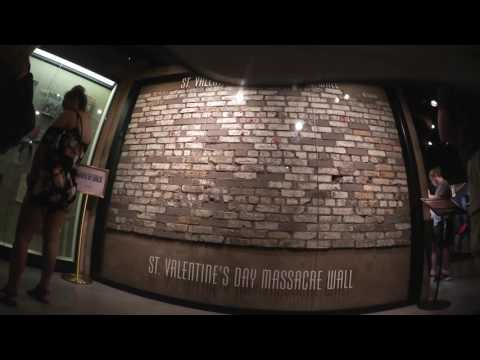Haunted St. Valentine's Day Massacre Wall