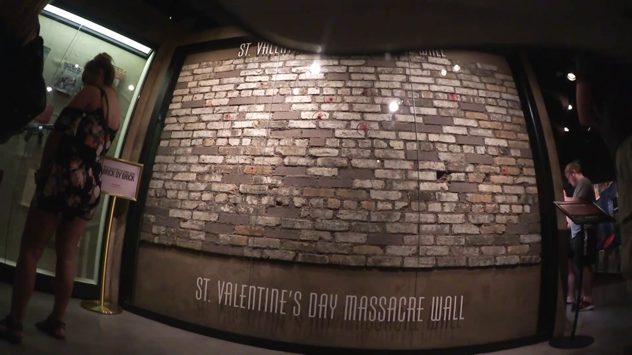 Haunted St Valentine S Day Massacre Wall Youtube
