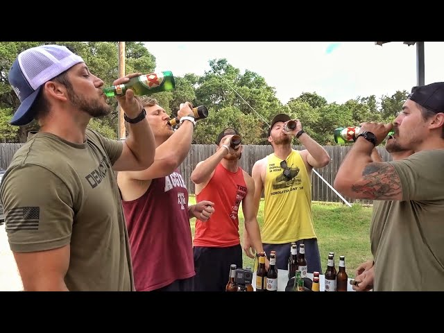 DemoRanch & DonutOperator Screamed at by Angry Lady for Chugging Competition...