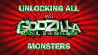 Unlocking All Monsters in GODZILLA: UNLEASHED [Wii]